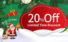 20% Off for PCB Orders to Celebrate Christmas