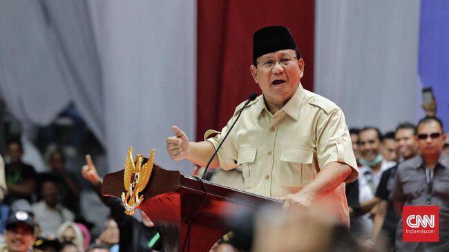 Prabowo Marah Media Tak Ungkap Jumlah 11 Juta Massa Reuni 212