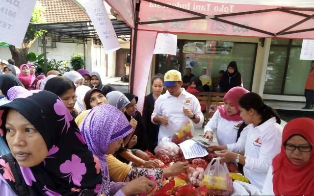 Stabilisasi Harga Dengan Bazar Pangan