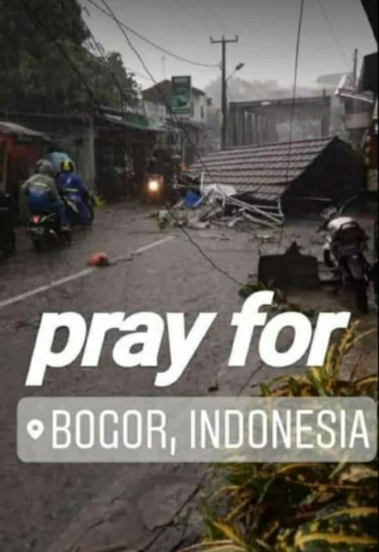 Puting Beliung Terjang Kota Bogor, Sejumlah Bangunan Rusak