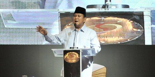 Prabowo Kesal pada Jurnalis: Jangan Hormati Mereka karena Semua Antek