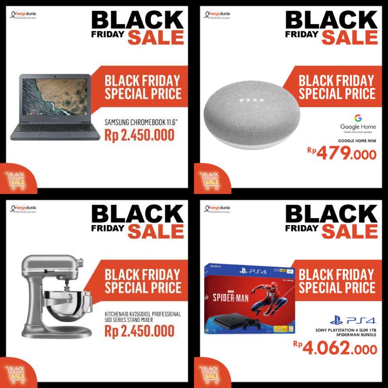 [SALE] Black Friday 2018 Berlalu, Siapkan Diri Untuk Christmas & New Year Sale!