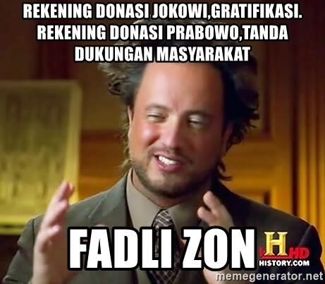 Tim Prabowo Bingung Kubu Jokowi Tersinggung Puisi 'Nachiro' Fadli