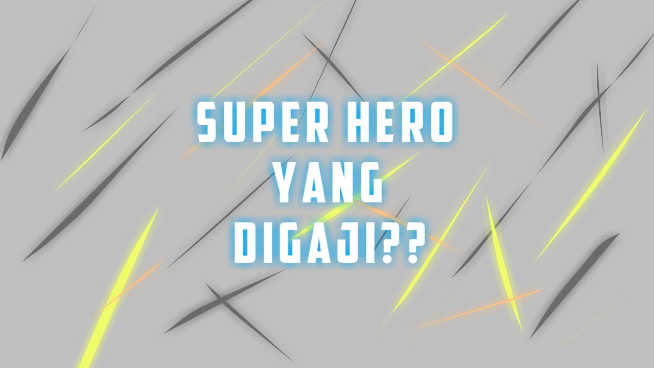superhero paling kaya