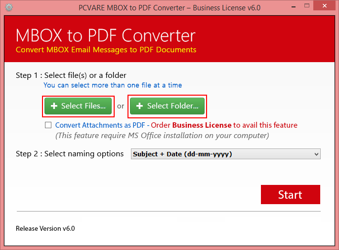 How to Print MBOX file to PDF with Attachments