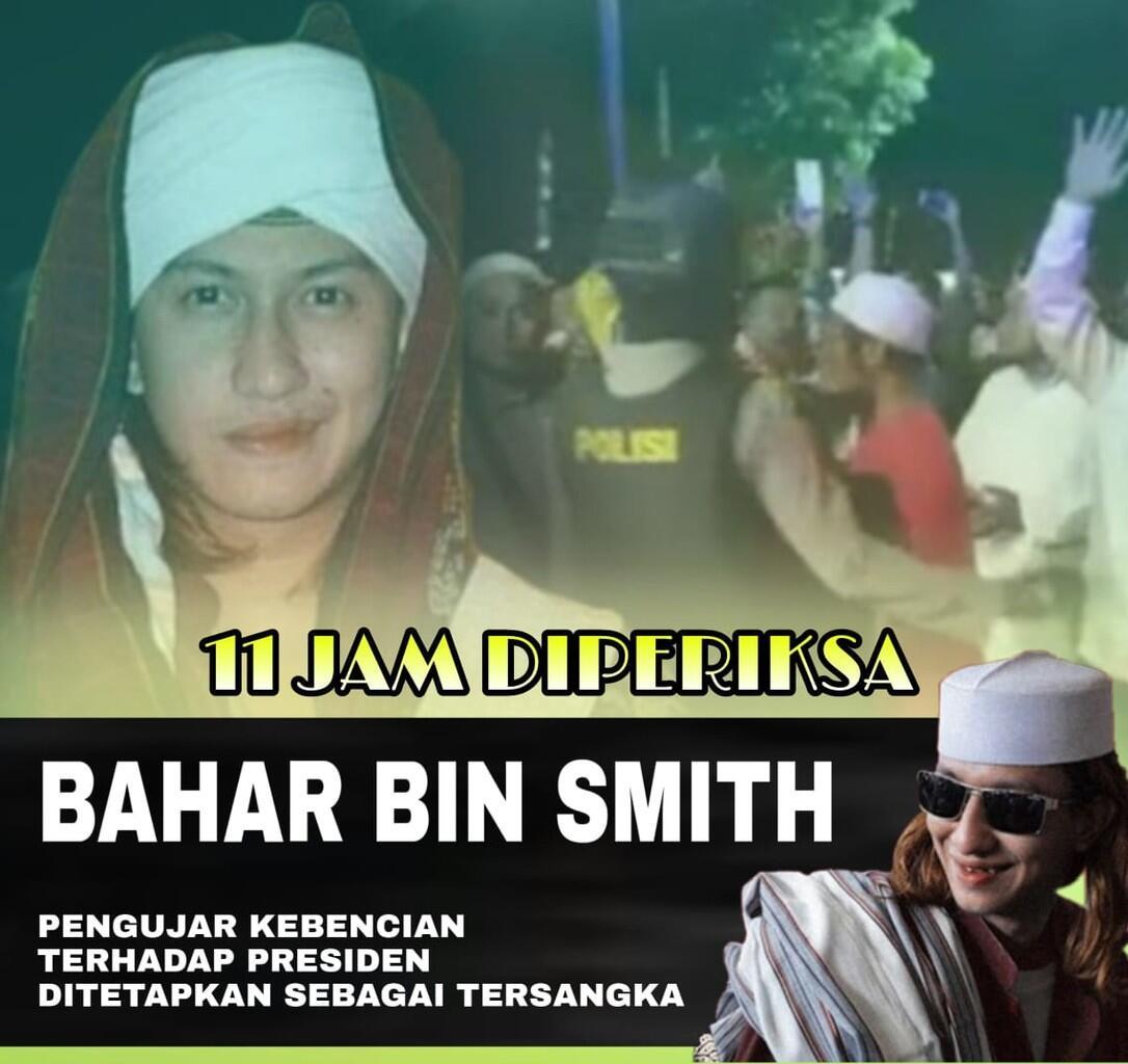 Pantas Saja Habib Bahar bin Smith Ditetapkan sebagai Tersangka