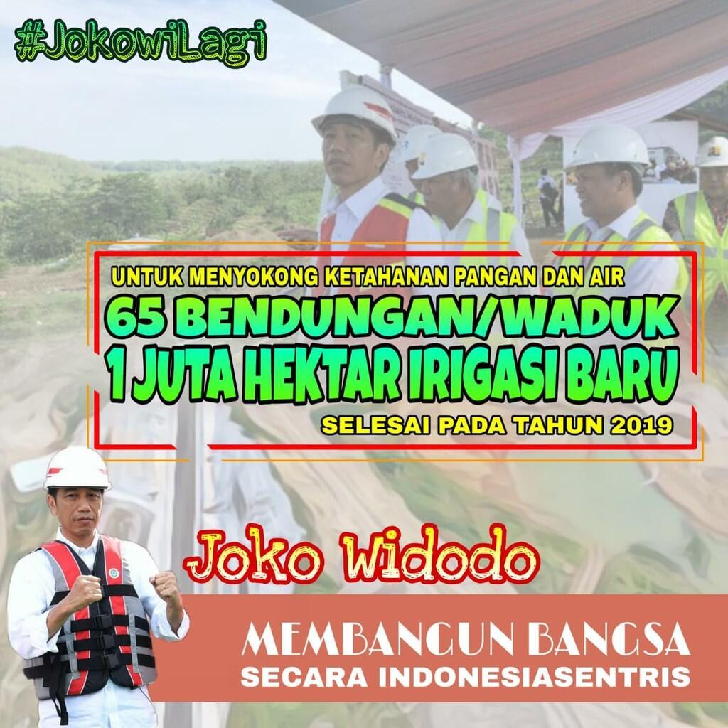 Presiden Jokowi Berhasil Wujudkan Indonesia-sentris
