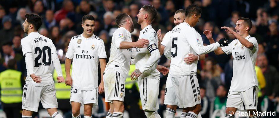 El Madrid asuhan Solari, tidak kemasukan gol dalam 5 dari 7 laga
