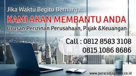 Mau Bikin PT dan CV di Bekasi dan Jakarta? Hubungi 081285833108