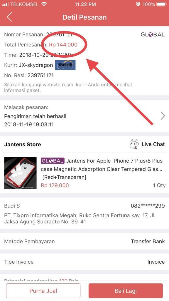 Kecewa dengan aftersales JD.ID