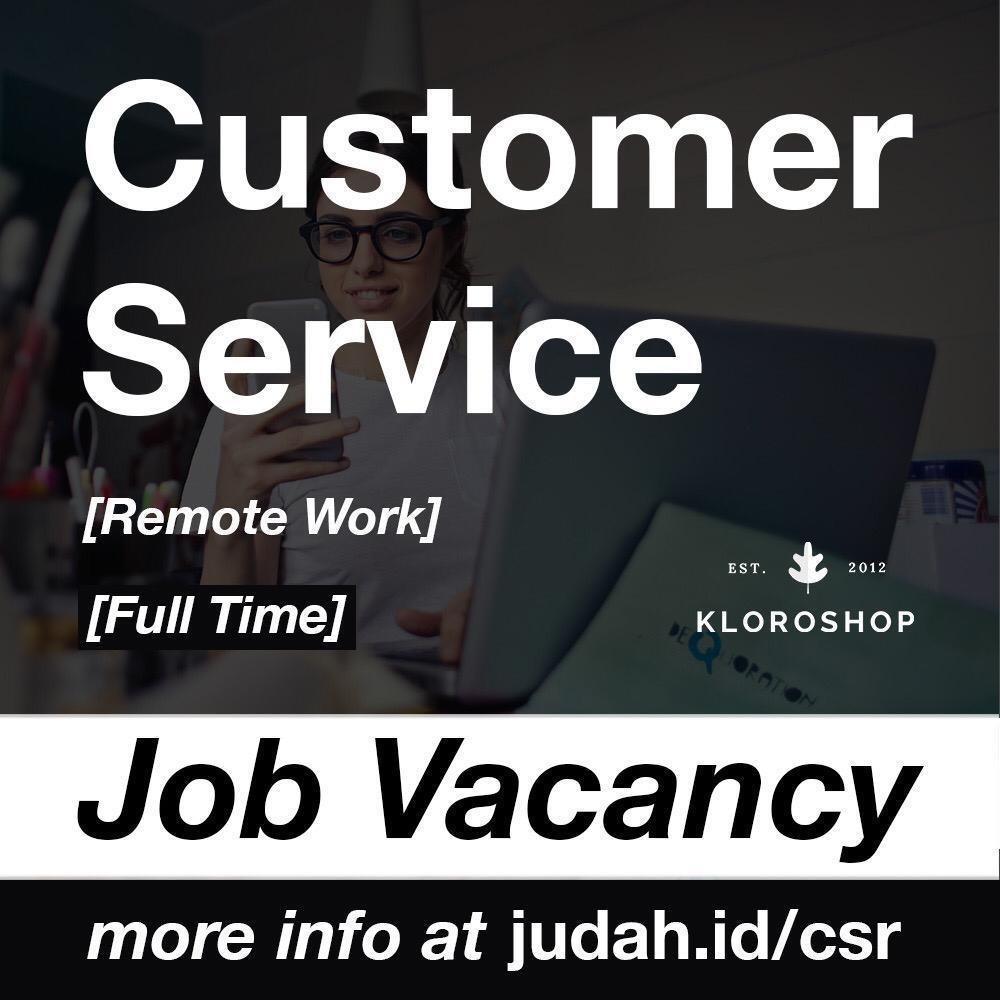 Customer Service Admin [Online Shop]