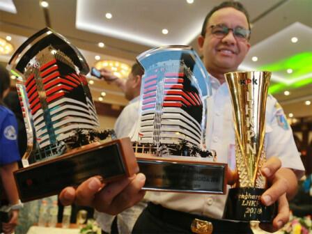 Pemprov DKI Dapat Tiga Penghargaan dari KPK