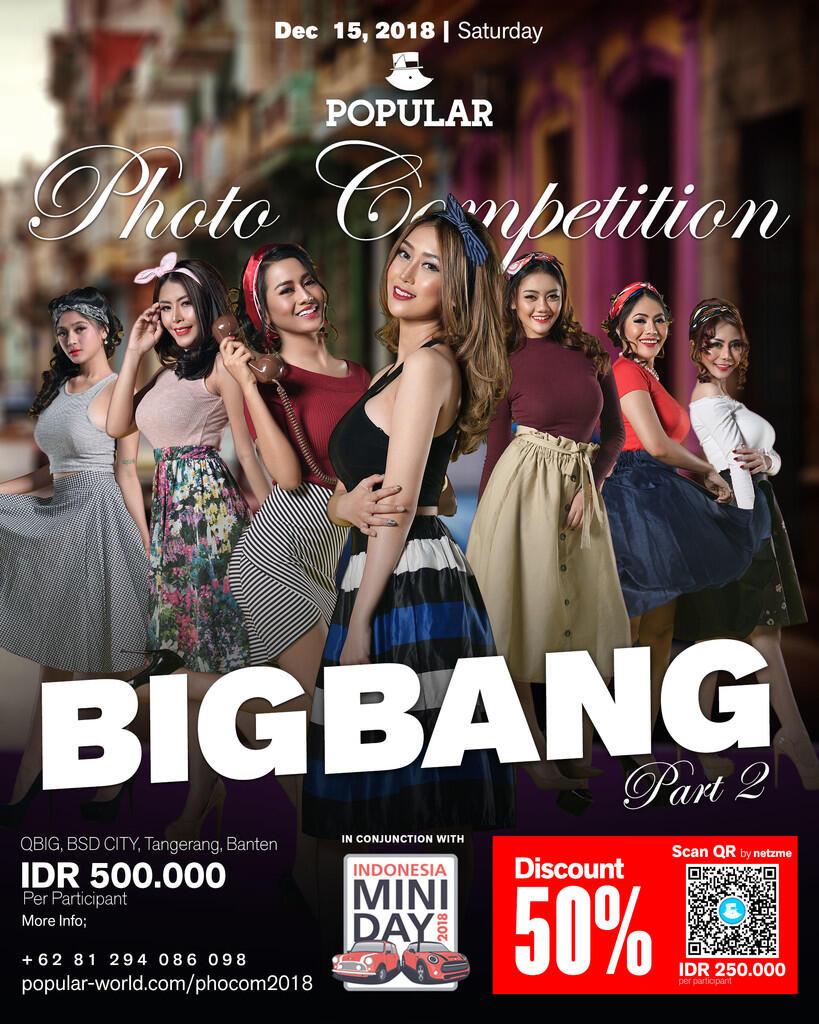 POPULAR Magazine Indonesia di tahun 2018. BIG BANG part 2!