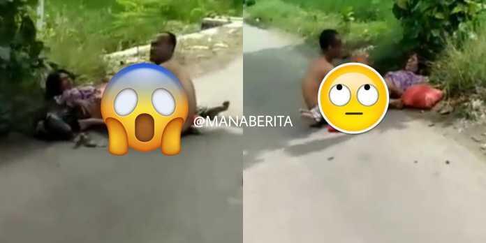 Viral, Pasangan Ini Lakukan Adegan Mesum di Tengah Jalan