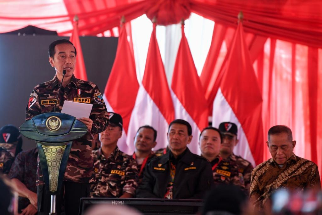 Cerita Jokowi Soal Spanduk PKI