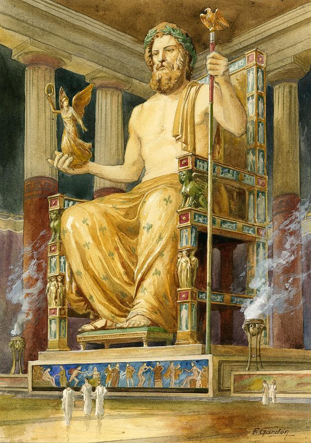 Tujuh Wanita Keturunan Hybrid Selingkuhan Zeus Selama Zaman Atlantis