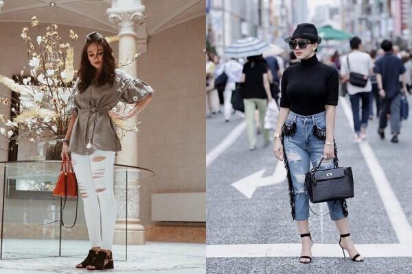 10 Adu Style Berkelas ala Luna Maya Vs Syahrini, Siapa Paling Elegan?