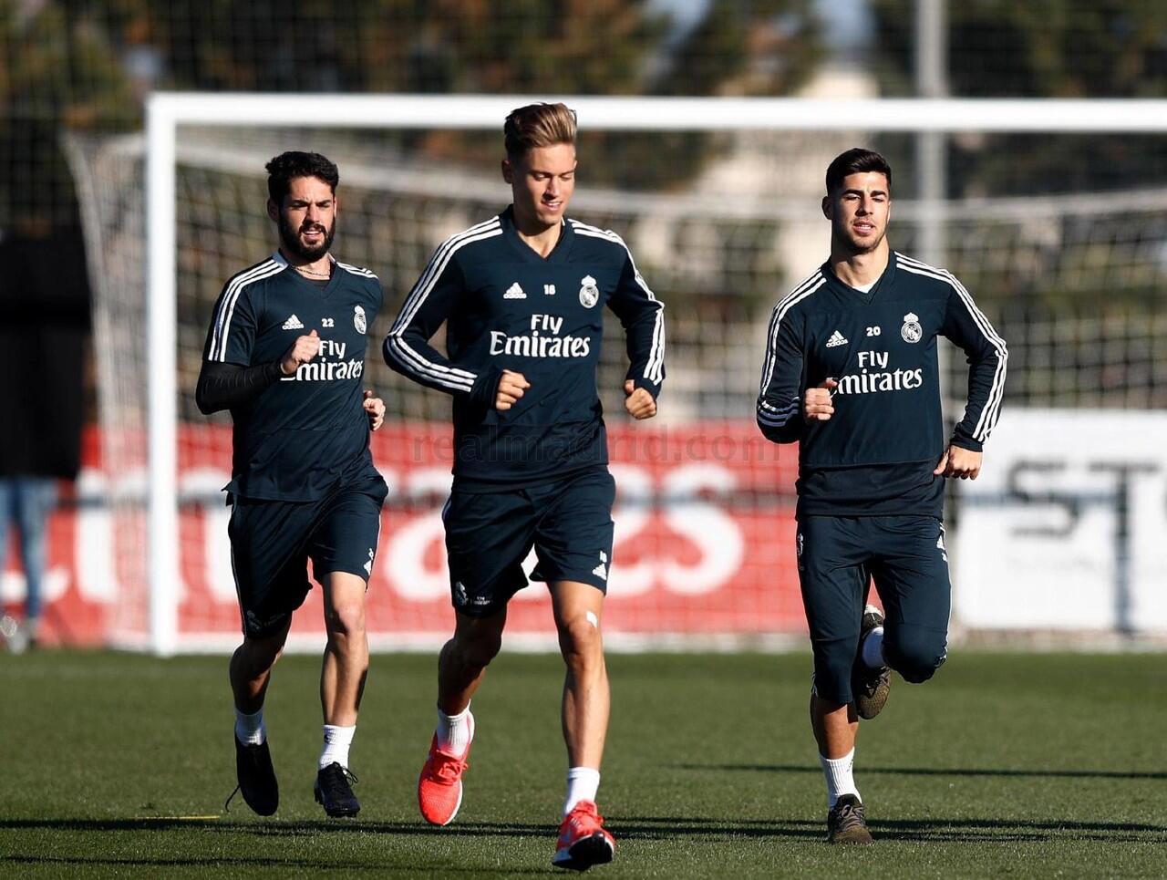 Real Madrid mulai mempersiapkan partai melawan Huesca