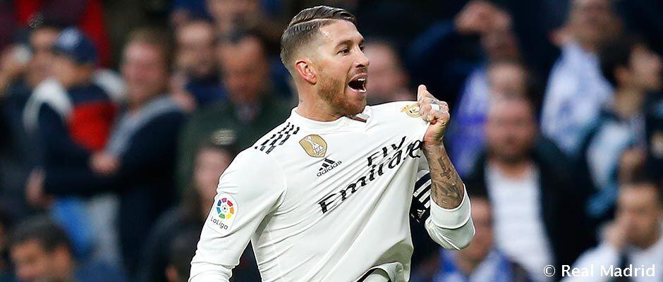 Ramos, pemain madridista yang paling sering merebut kembali bola di Liga