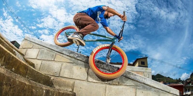 Kisah Inspiratif Julian Molina, Rider BMX Berkaki Satu