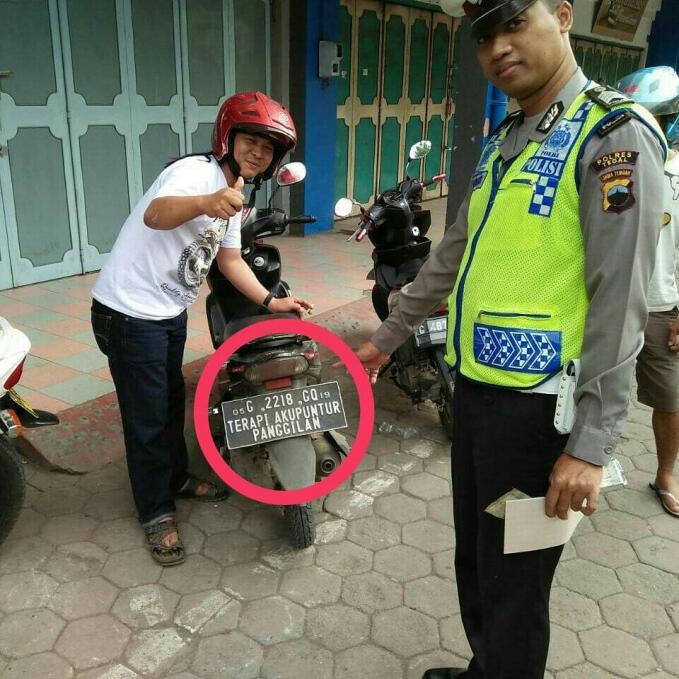 Plat Nomor Di Indonesia Emang Gokil Pernah Ketemu Gak??