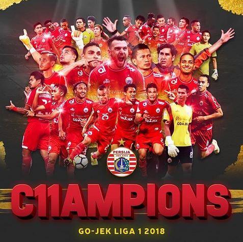 Reaksi Netizen Persija Juara Liga 1, Apakah Benar Settingan?