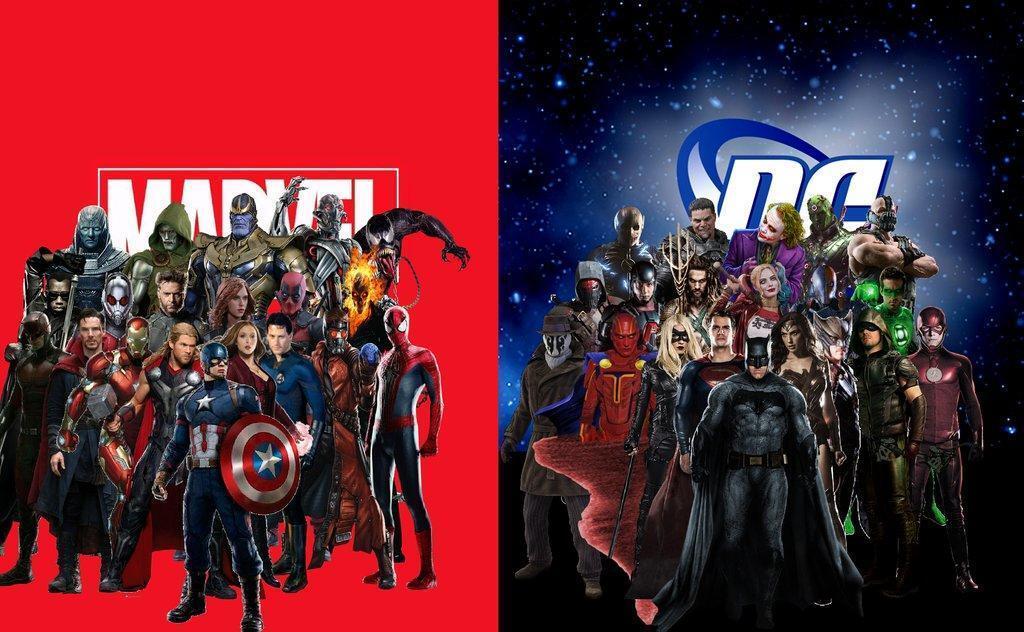 Dc Vs Marvel...? 🤔