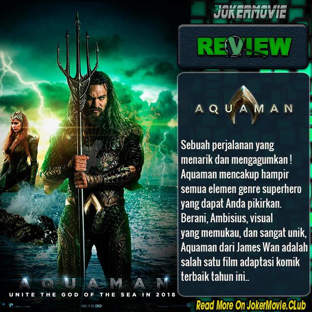 Mengapa Film DC 'Aquaman' Meledak Di Cina