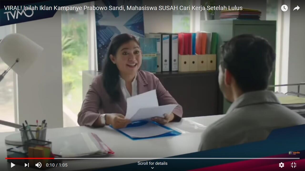 Kenapa Lulusan Arsitektur Yang Dipilih Untuk Iklan Kampanye Prabowo?