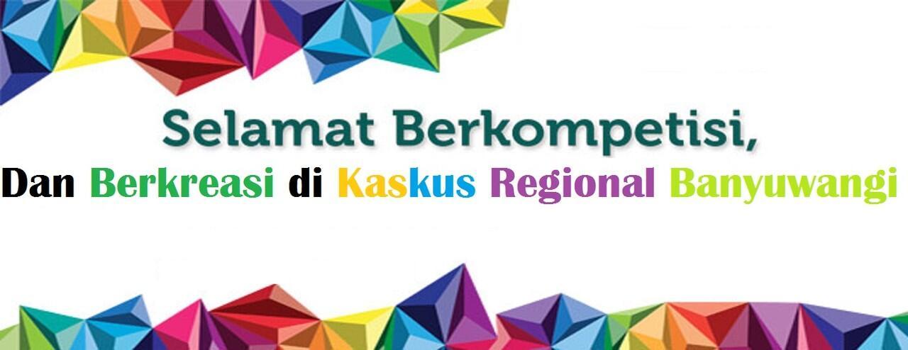 KOMPETISI Logo Kaskus Regional Banyuwangi
