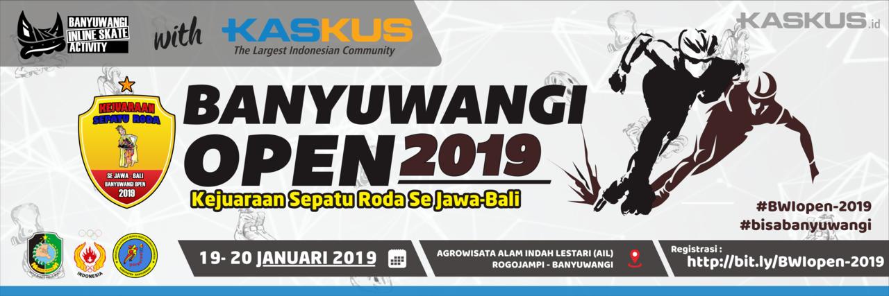 Banyuwangi Open 2019 - KEJUARAAN SERODA-WALI