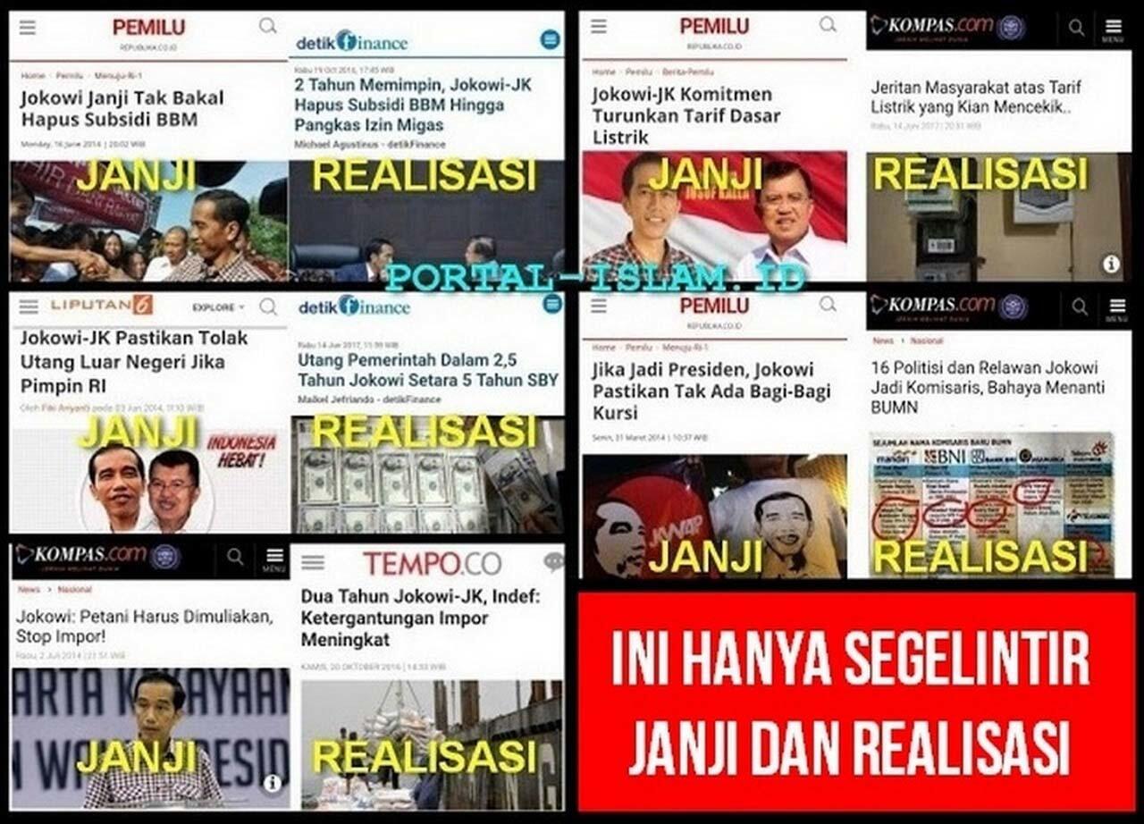 Banyak Relawan Jokowi Diklaim Beralih Ke Prabowo