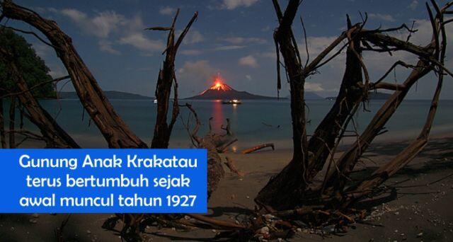 10 Potret Dahsyatnya Letusan Krakatau Tahun 1883 yang Timbulkan Tsunami Raksasa!
