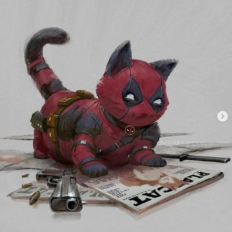Ketika Identitas Superhero Adalah Para Kucing, Inilah yang Terjadi