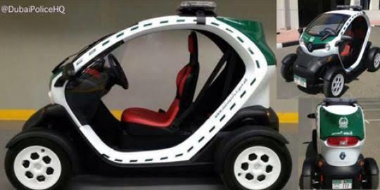 Gila !! Mewahnya Kendaraan Polisi Kota Dubai