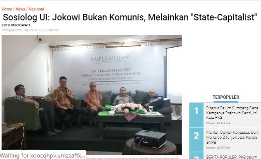 Pengamat Politik UIN Beberkan 2 Masalah yang Bikin Jokowi Kalah di Pilpres