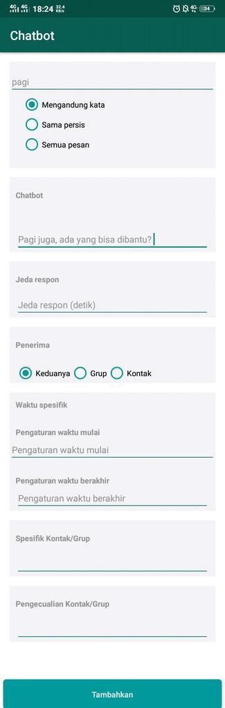 Cara Mudah Membuat Chatbot atau Balasan Otomatis di WhatsApp
