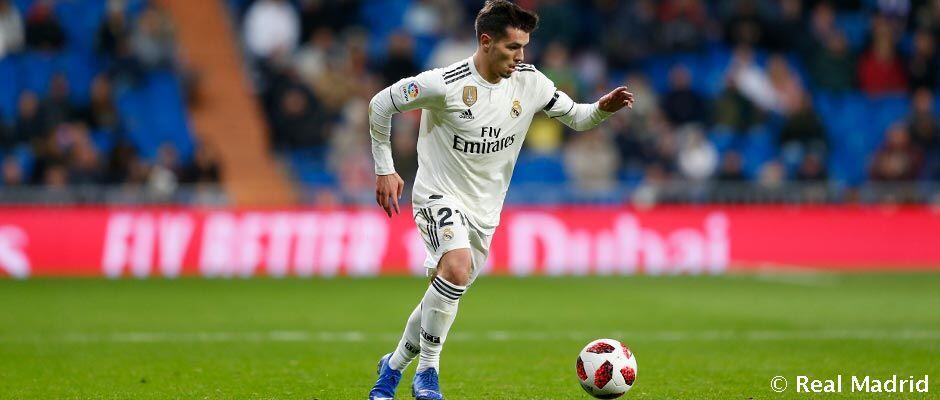 Brahim membuat debut bersama Real Madrid