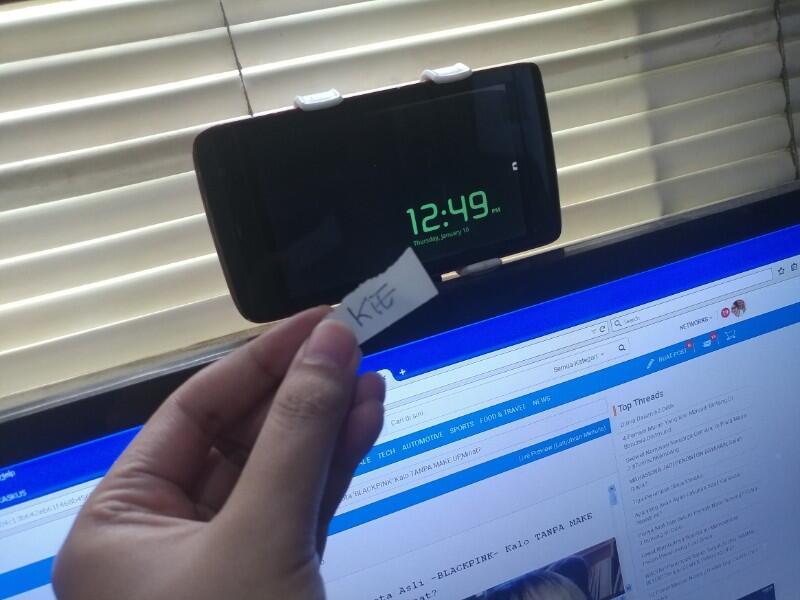 TETHERING Dengan Smartphone jadul buat internetan dirumah dan menghemat biaya.