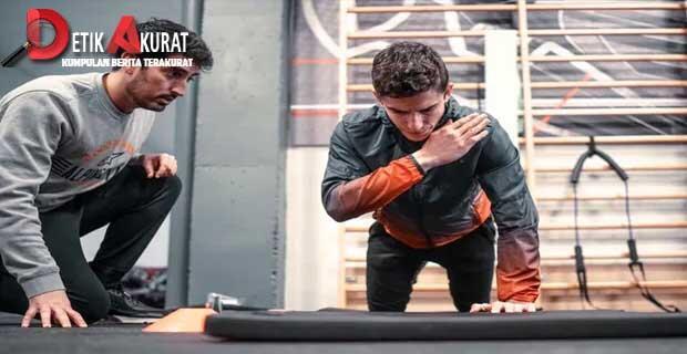 Marc Marquez Dibekam Demi Tampil di Sepang Malaysia
