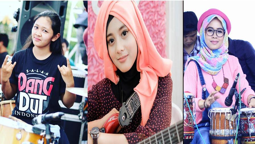 3 dara cantik musisi dangdut yang akan membuat agan terpesona