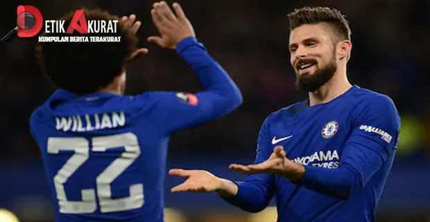 Gol Pedro Dan Willian Menangkan Chelsea atas Newcastle 2-1