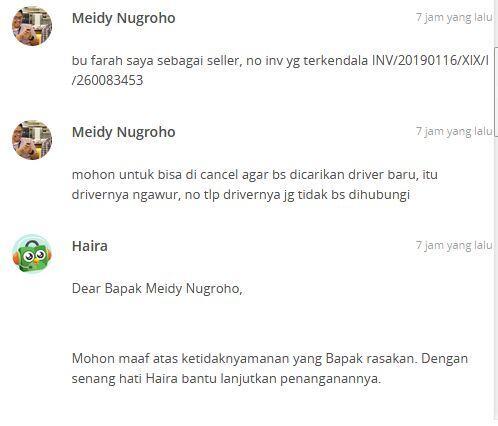 Hati - Hati Terhadap (oknum) Driver Grab Delivery,, pikir 2x menggunakan layanannya