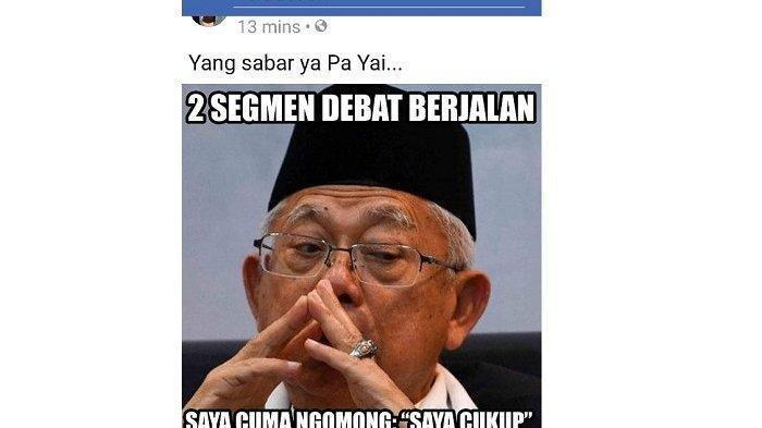 Kumpulan Meme Mengenai Kelucuan Yang Terjadi Pada Debat Pilpres 2019 Yang Pertama  KASKUS