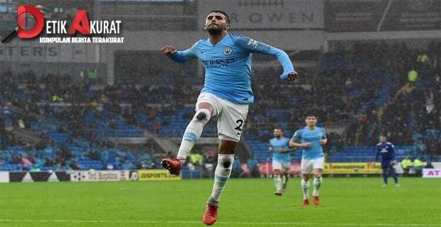 Huddersfield Dibantai City 0-3, Terus Buntuti Liverpool