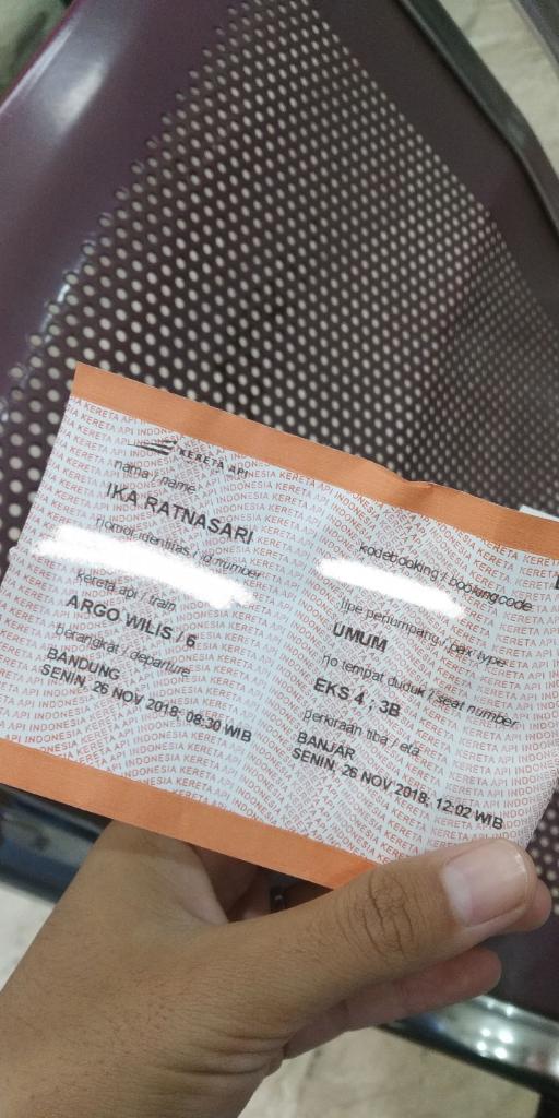 Tips Trik Naik Kereta Pake Tiket Go Show Kaskus