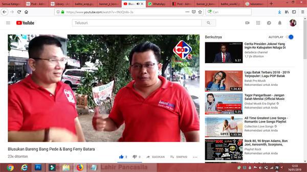 BekasiPedia.tv Luncurkan Program Blusukan bareng Bang Pede
