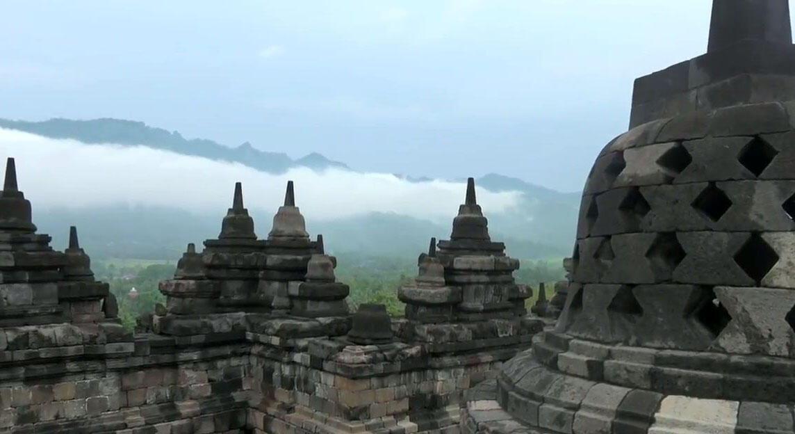 Pertama Kali Menginjakkan Kaki di Borobudur