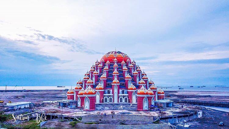 Mengenal Masjid 99 Kubah Ikon Baru Kota Makassar | KASKUS