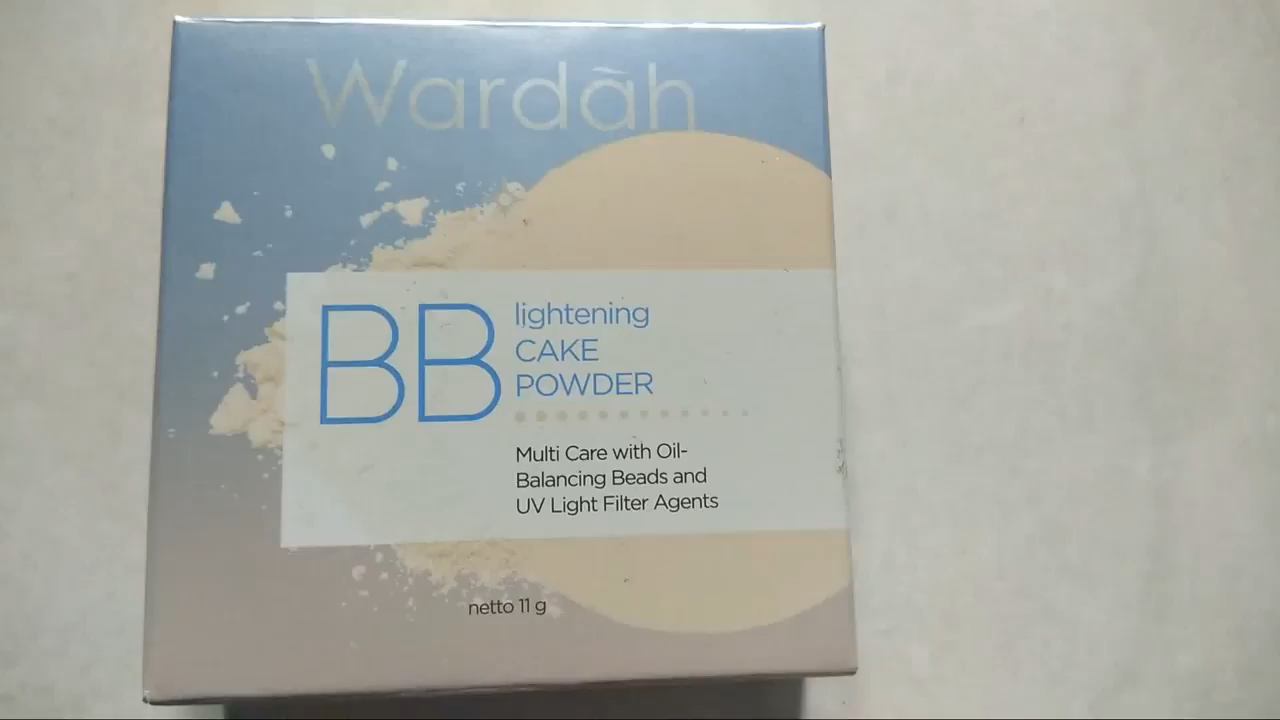 Review: Wardah BB Lightening Cake Powder